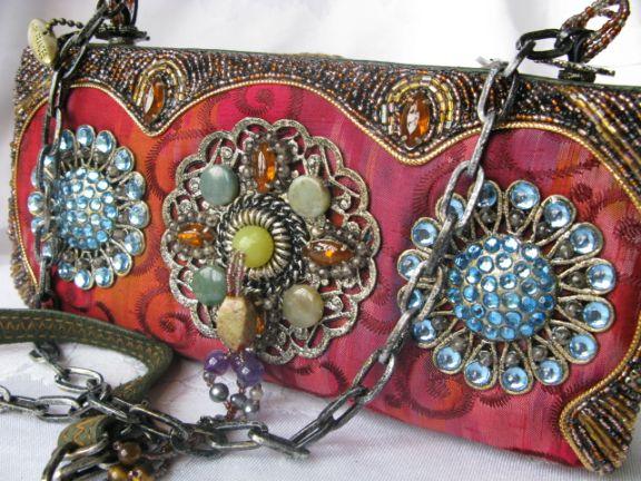 Barcelona Retired Mary Frances Handbag