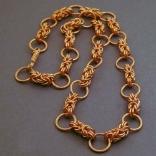 Copper Chainmaille