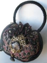DELIGHTFULLY DECO - RETIRED Mary Frances Handbag