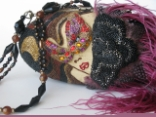 MASQUERADE - RETIRED Mary Frances Handbag
