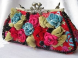 AMERICAN BEAUTY - RETIRED Mary Frances Handbag