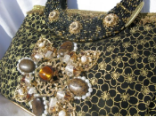 PIXIE DUST - RETIRED Mary Frances Handbag