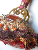 TANGERINE DREAM - RETIRED Mary Frances Handbag